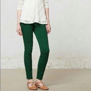 Anthropologie Pilcro & the Letterpress Green Jeans